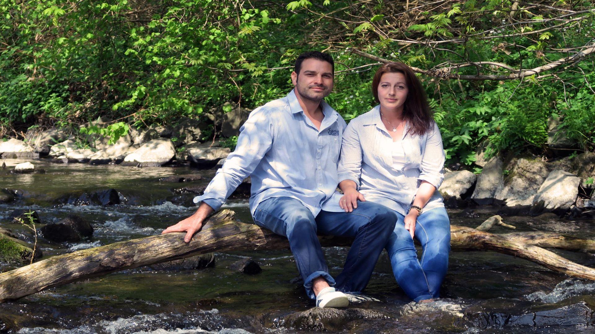 Am Brölbach zu Hause – das Bröltaler Erntepaar Manuela und Filippo Barbagallo
